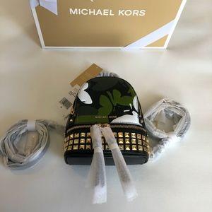 Michael Kors Rhea Mini Backpack and Giftbox
